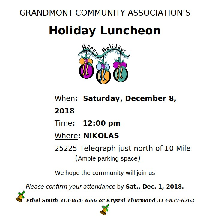 2018 gca holiday luncheon