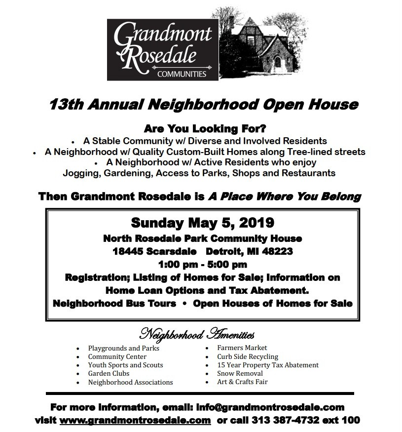 2019 open house grandmont rosedale