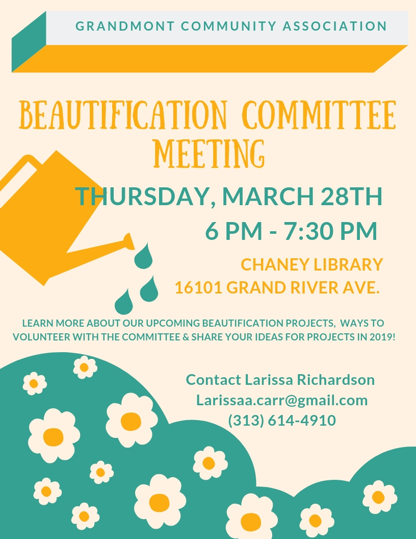 Beautification Committee Meeting