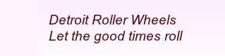 detroit roller wheels
